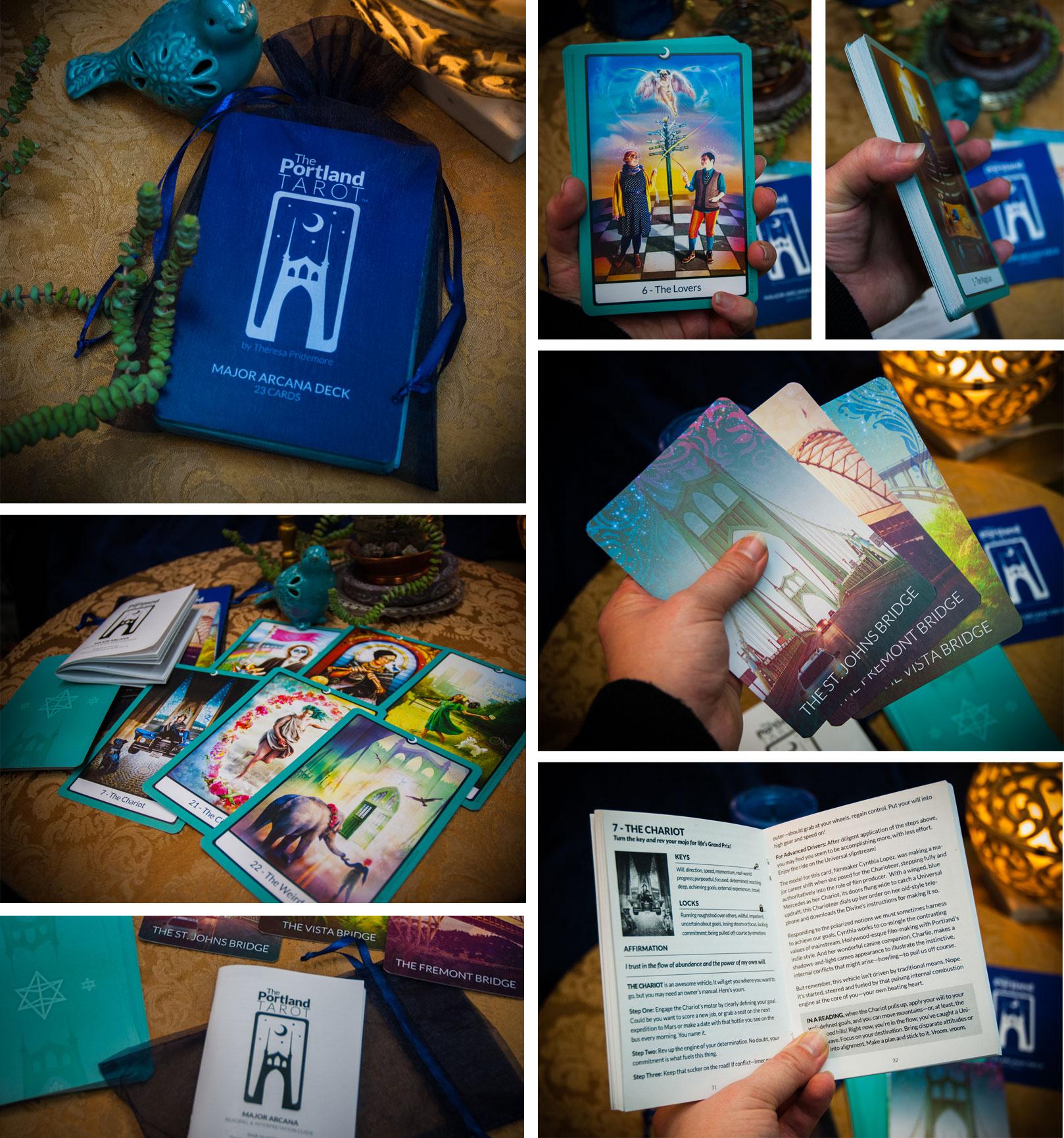 The New 2nd Edition Portland Tarot Major Arcana Deck
