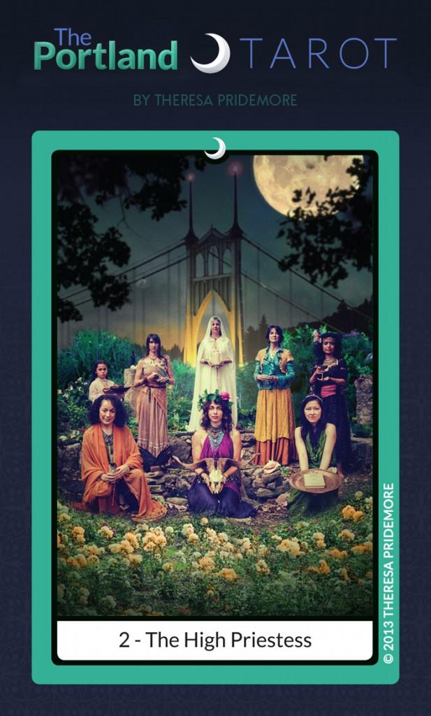The Portland Tarot: 2 - The High Priestess