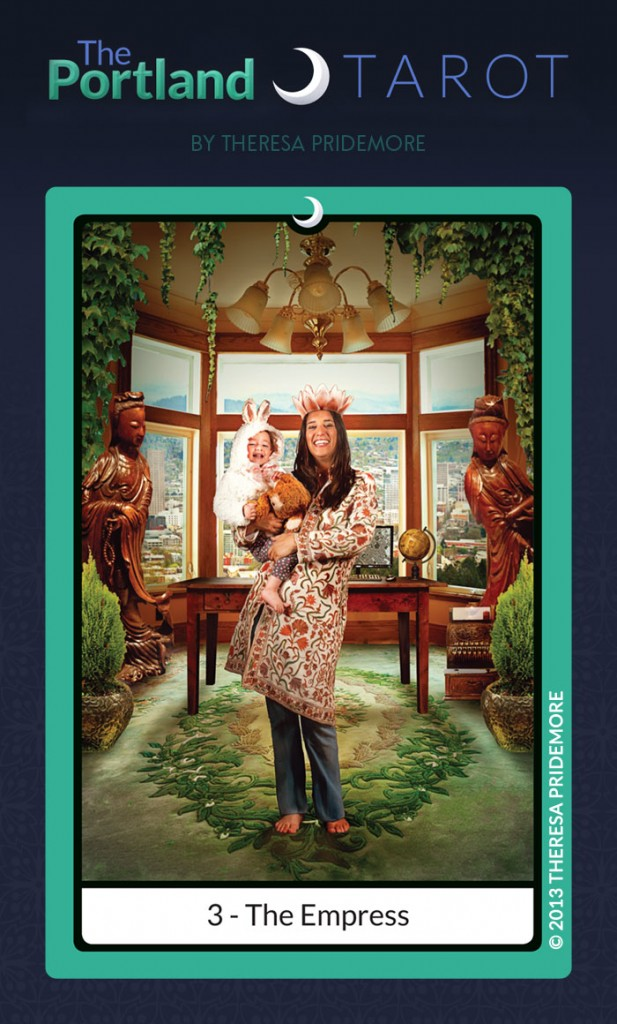 The Portland Tarot Major Arcana - 3 The Empress