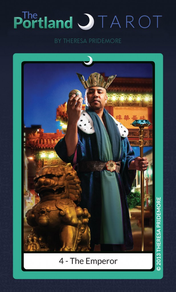 The Portland Tarot Major Arcana - 4 The Emperor