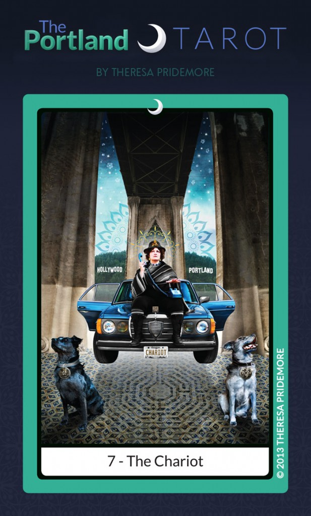 The Portland Tarot Major Arcana - 7 The Chariot