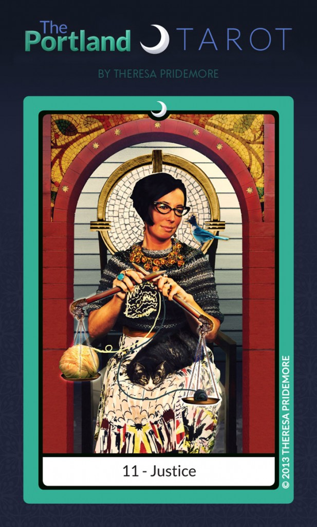 The Portland Tarot Major Arcana - 11 Justice