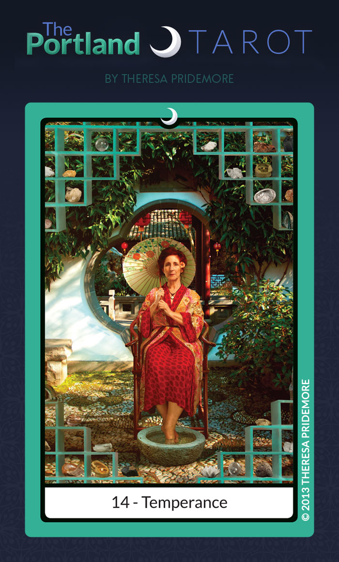 The Portland Tarot Major Arcana - 14 Temperance