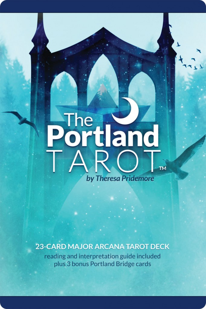 The Portland Tarot front retail package