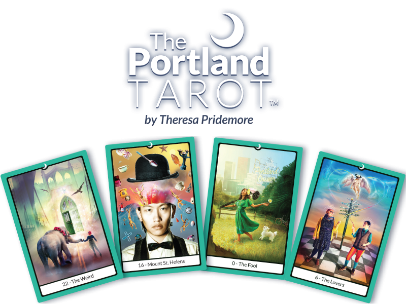 The Portland Tarot Majors Deck – Available Now